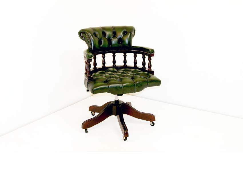 Click to see larger picture of Captains Swivel chair